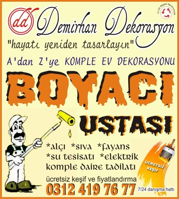 TADİLAT DEKORASYON FİRMALARI ANKARA 0312-4197677
